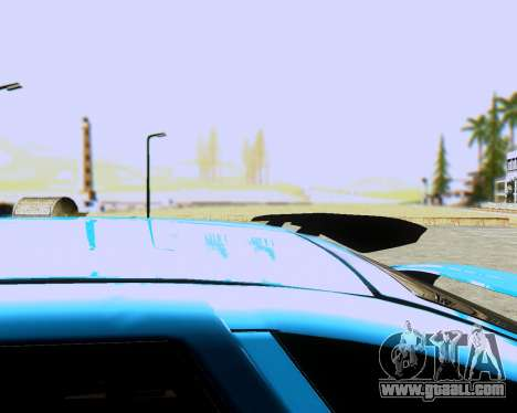 VAZ 2112 Tuneable for GTA San Andreas back left view