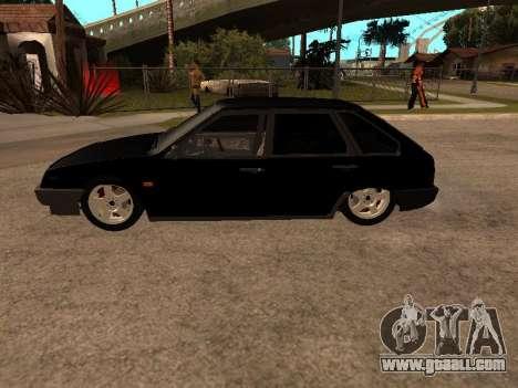 VAZ 2109 Gangster nine V 1.0 for GTA San Andreas right view