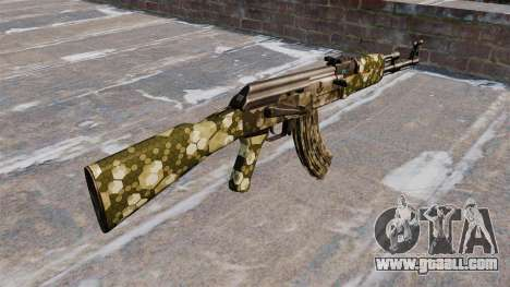 The AK-47 Hex for GTA 4 second screenshot