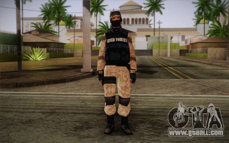 SWAT Desert Camo for GTA San Andreas