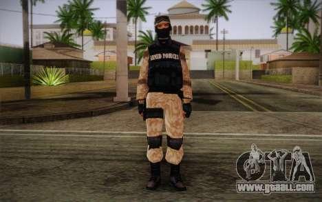 SWAT Desert Camo for GTA San Andreas
