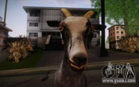Goat for GTA San Andreas third screenshot