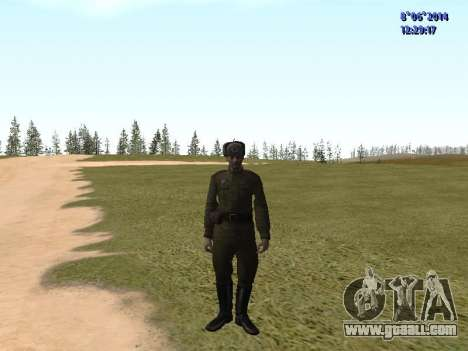 USSR Soldier Pack for GTA San Andreas forth screenshot