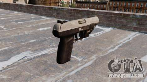 Gun FN Five seveN LAM ACU Camo for GTA 4 second screenshot