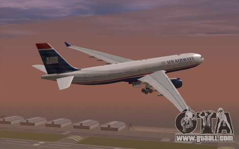 Airbus A330-300 for GTA San Andreas left view
