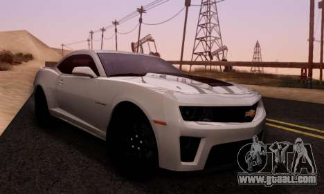 Chevrolet Camaro ZL1 2014 for GTA San Andreas