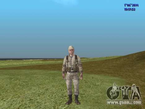 Afghanistan Soviet Soldiers for GTA San Andreas tenth screenshot