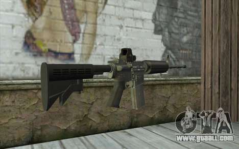 M4A1 Holosight for GTA San Andreas second screenshot