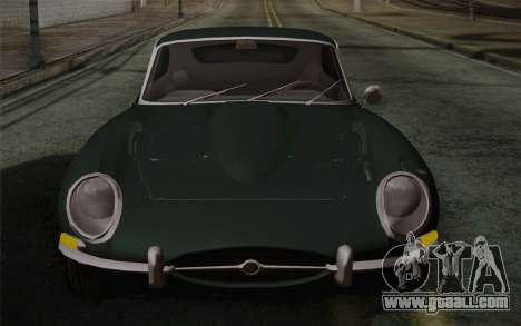 Jaguar E-Type 4.2 for GTA San Andreas bottom view
