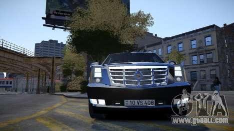 Cadillac Escalade for GTA 4 side view