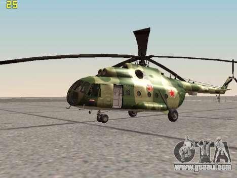 Mi-8T for GTA San Andreas