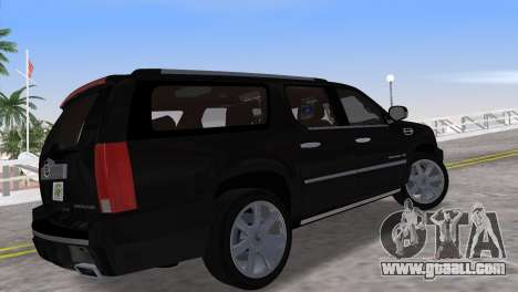 Cadillac Escalade ESV Luxury 2012 for GTA Vice City left view