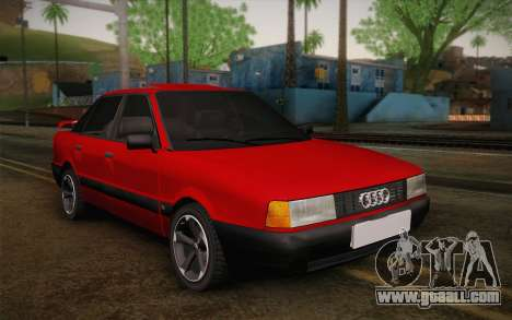 Audi 80 B3 v1.0 for GTA San Andreas