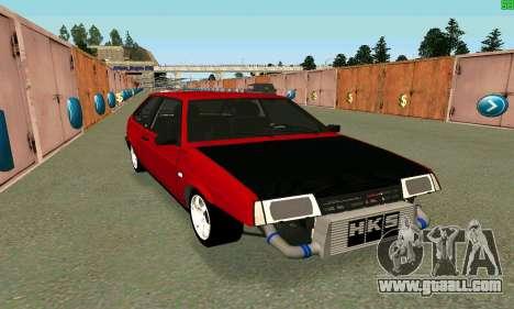 VAZ 2108 Turbo for GTA San Andreas