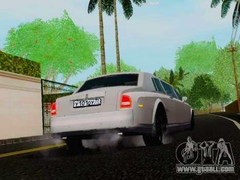 Rolls-Royce Phantom Limo for GTA San Andreas right view