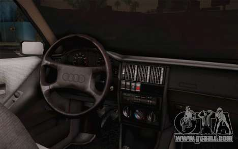 Audi 80 B3 v1.0 for GTA San Andreas back left view