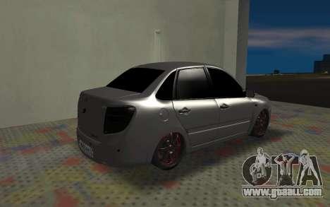 VAZ 2190 Grant for GTA San Andreas back left view