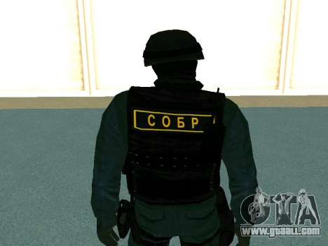Skin SOBR for GTA San Andreas forth screenshot