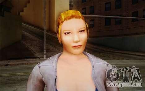 Woman Autoracer from FlatOut v2 for GTA San Andreas third screenshot
