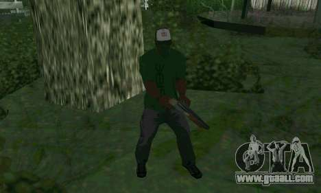 New features of weapons for GTA San Andreas third screenshot