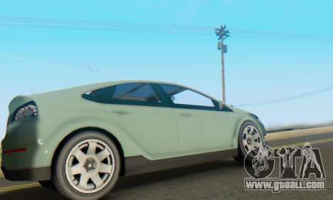 Cheval Surge V1.0 for GTA San Andreas back view