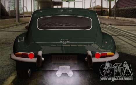 Jaguar E-Type 4.2 for GTA San Andreas engine