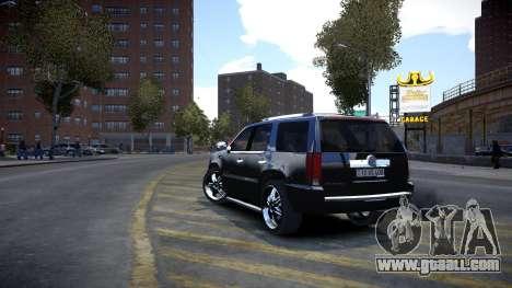 Cadillac Escalade for GTA 4 right view