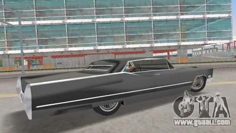 Cadillac DeVille 1967 Lowrider for GTA Vice City left view