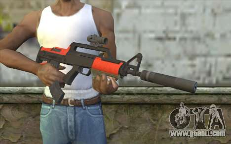 BullPup Rifle из GTA 5 for GTA San Andreas third screenshot