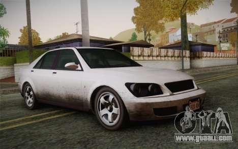 Sultan из GTA 5 for GTA San Andreas
