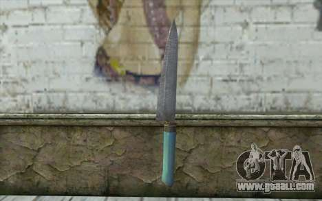 The old kitchen knife for GTA San Andreas