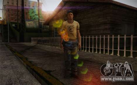 Ellis from Left 4 Dead 2 for GTA San Andreas