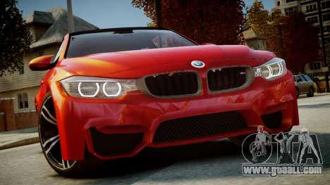 BMW M4 Coupe 2014 v1.0 for GTA 4