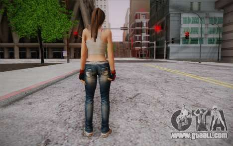 Hitomi из Dead or Alive for GTA San Andreas second screenshot