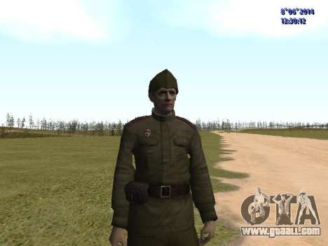 USSR Soldier Pack for GTA San Andreas seventh screenshot