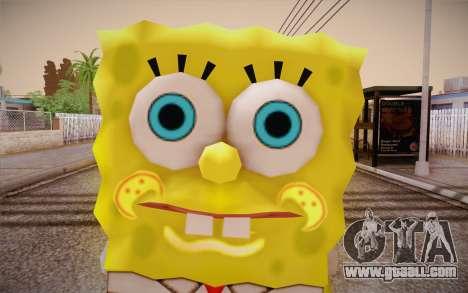 Sponge Bob for GTA San Andreas third screenshot