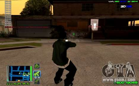 C-HUD Optimal for GTA San Andreas third screenshot