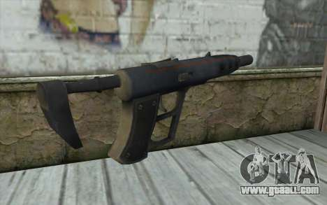 Sten 2041 SMG for GTA San Andreas second screenshot