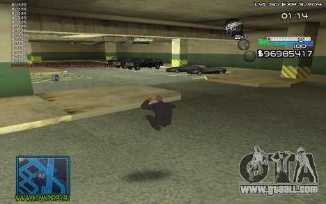 С-HUD by SteelMan for GTA San Andreas