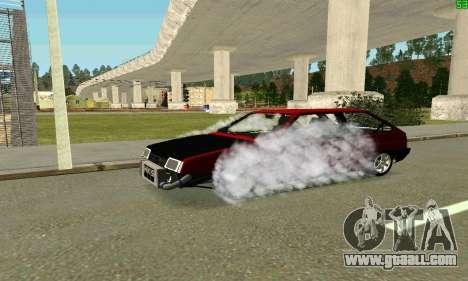 VAZ 2108 Turbo for GTA San Andreas engine