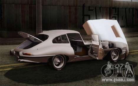Jaguar E-Type 4.2 for GTA San Andreas upper view