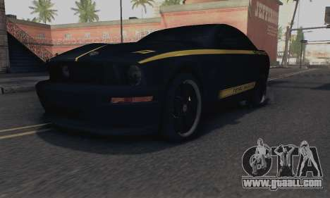 Ford Mustang Shelby Terlingua 2008 NFS Edition for GTA San Andreas