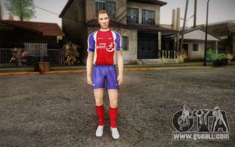 Footballer for GTA San Andreas