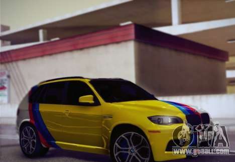 BMW X5M 2013 for GTA San Andreas side view