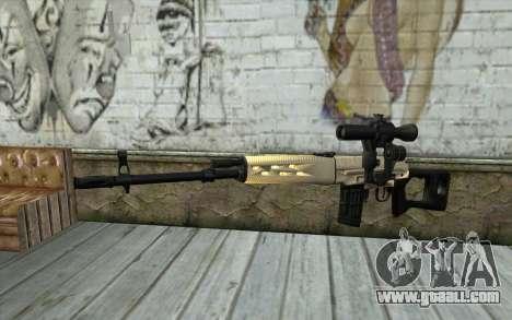 SVD Sniper Rifle for GTA San Andreas