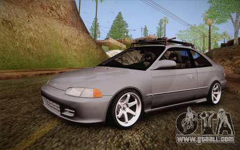 Honda Civic 1999 for GTA San Andreas