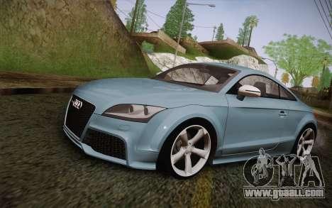 Audi TT RS 2011 for GTA San Andreas
