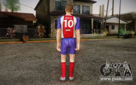 Footballer for GTA San Andreas second screenshot