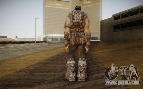 Marcus Fenix из Gears of War 3 for GTA San Andreas second screenshot