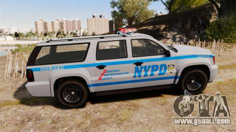 GTA V Declasse Granger NYPD for GTA 4 left view